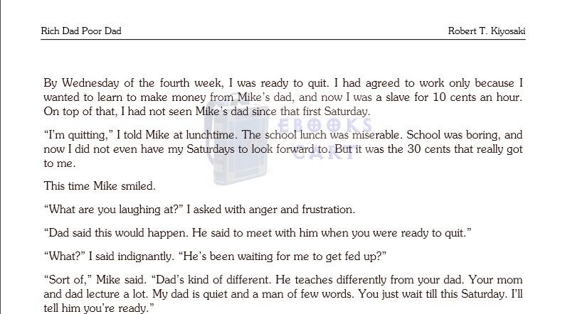 Rich Dad Poor Dad for Teens by Robert T Kiyosaki Overview