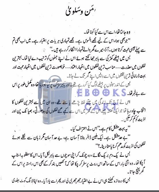 Download Man-o-Salwa by Umera Ahmed PDF Free