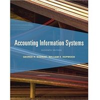 Accounting Information Systems, 11th Edition by George H. Bodnar, William S. Hopwood