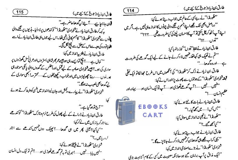 Tariq bin Ziyad by Misbah Akram PDF Book Review