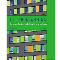 C++ Programming Program Design Including Data Structures by D. S. Malik PDF Book Free Download