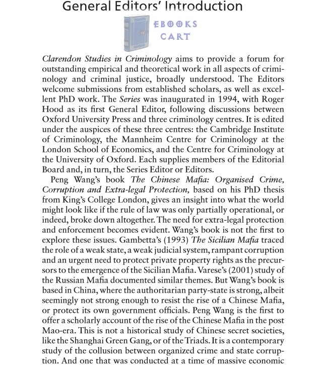The Chinese Mafia: Organized Crime, Corruption, and Extra-Legal Protection by Peng Wang PDF Review