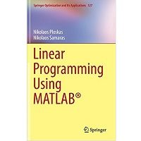 Linear Programming Using MATLAB PDF Free Download