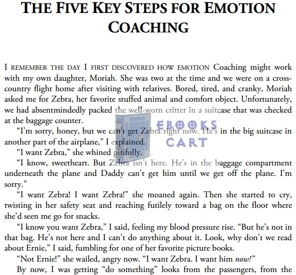 Raising An Emotionally Intelligent Child The Heart of Parenting PDF Download