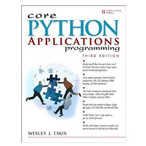 Core Python Applications Programming PDF Download