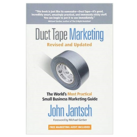 Duct Tape Marketing by John Jantsch PDF Download