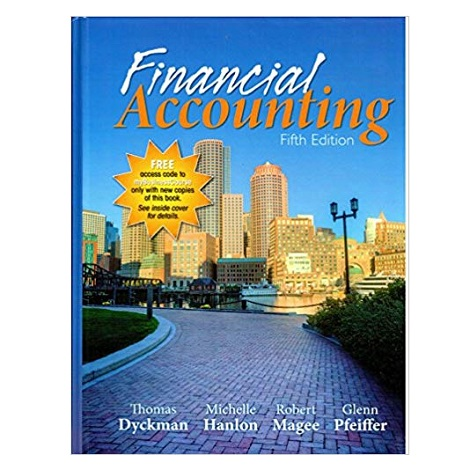 Financial Accounting by Thomas Dyckman PDF