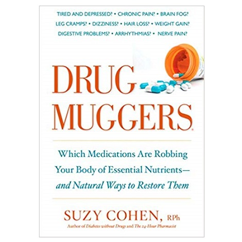 Drug Muggers by Suzy Cohen PDF Download