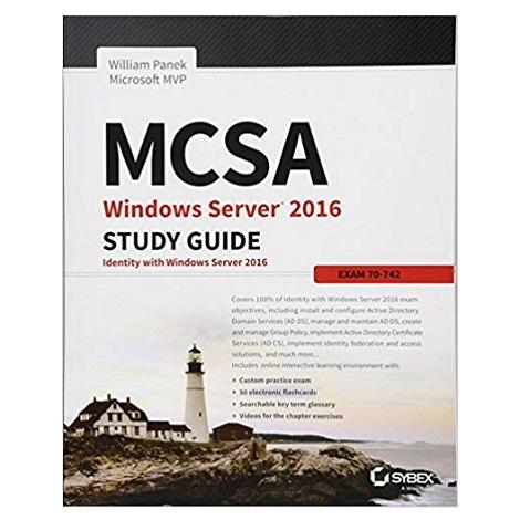 MCSA Windows Server 2016