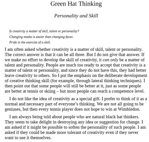 Download Six Thinking Hats by Edward De Bono PDF Free