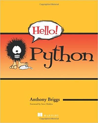 Hello! Python by Anthony S. Briggs pdf