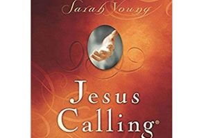 Jesus Calling by Sarah Young PDF