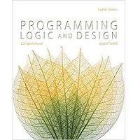 Programming Logic and Design, Comprehensive by Joyce Farrell PDF