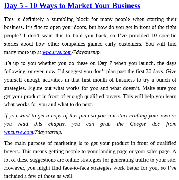 The 7 Day Startup by Dan Norris PDF