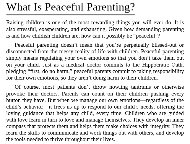 Peaceful Parent, Happy Kids by Dr. Laura Markham PDF Download