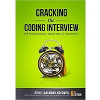 Cracking the Coding Interview by Gayle Laakmann McDowell Book Free Download