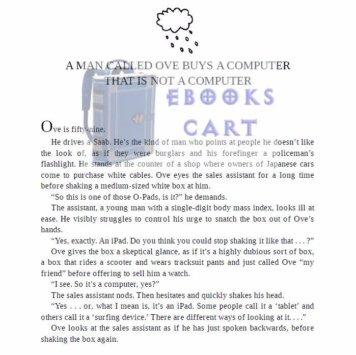 Download A Man Called Ove Novel by Fredrik Backman PDF Free