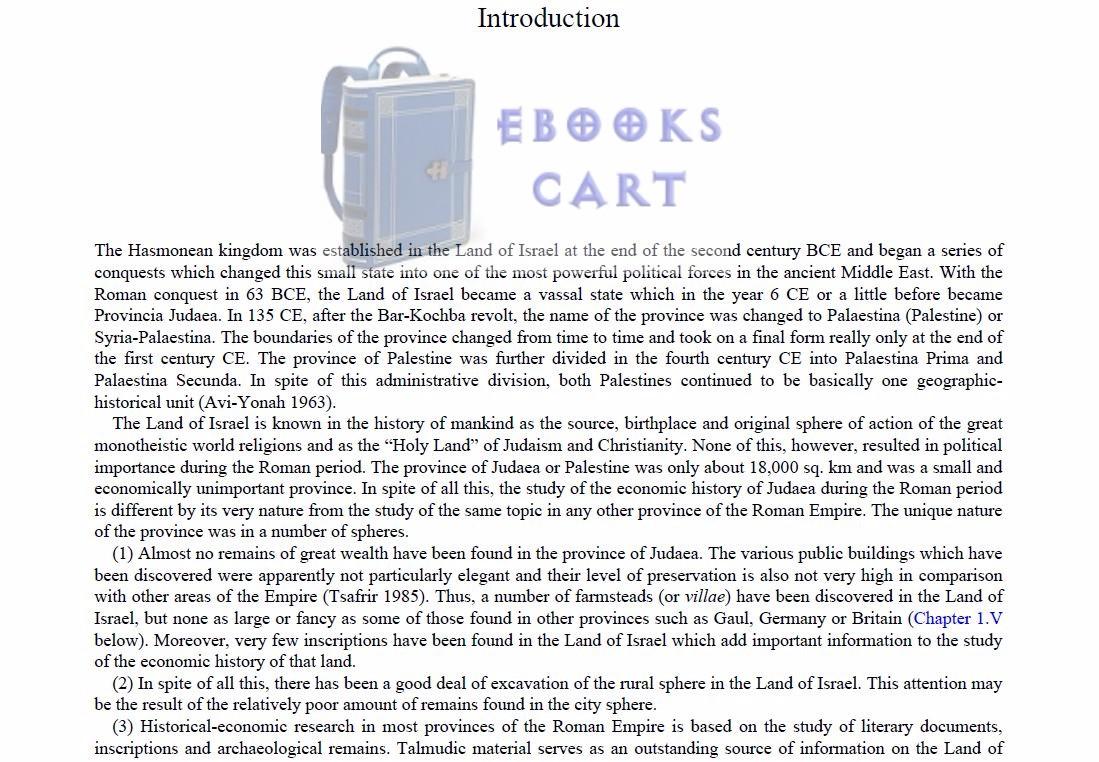 Download The Economy of Roman Palestine by Ze'ev Safrai PDF eBook Free