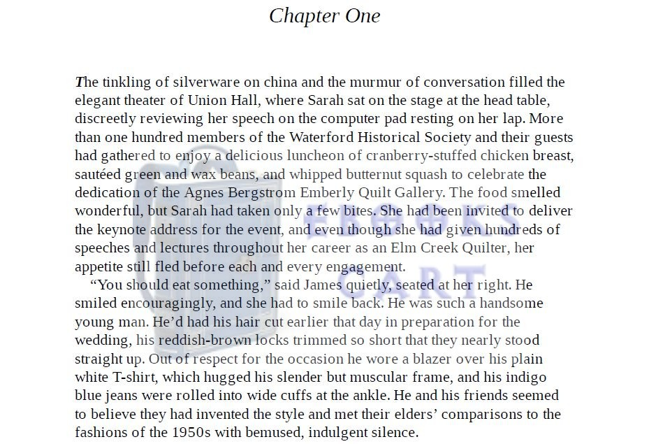 Download The Wedding Quilt: An Elm Creek Quilts Novel by Jennifer Chiaverini PDF Free