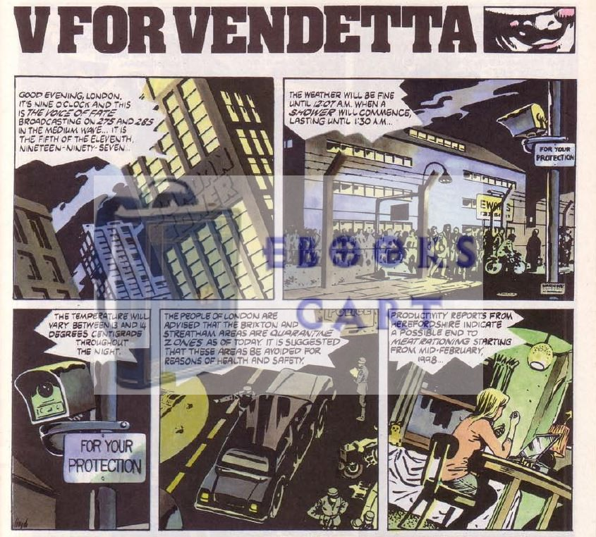 Download V for Vendetta by Alan Moore PDF Free