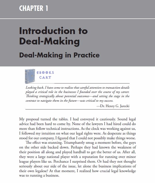 Make the Deal Negotiating Mergers and Acquisitions by Christopher S. Harrison PDF Review