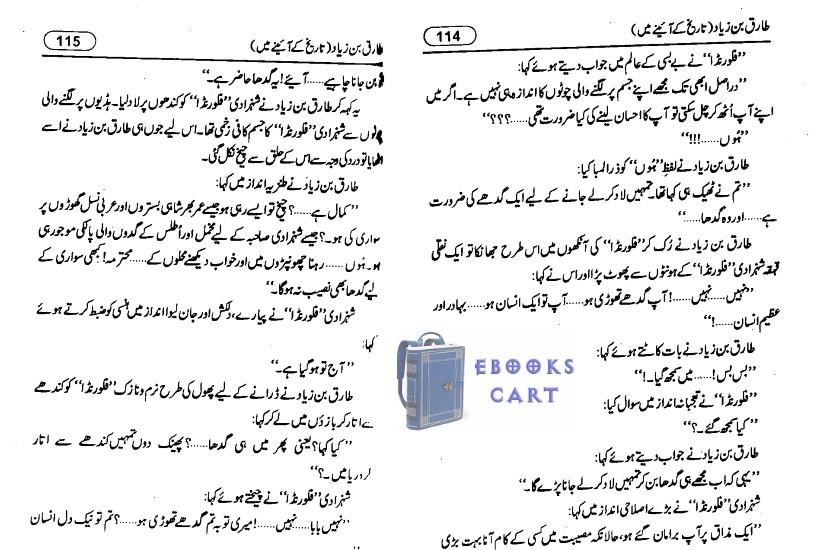 Tariq bin Ziyad by Misbah Akram PDF Book Review