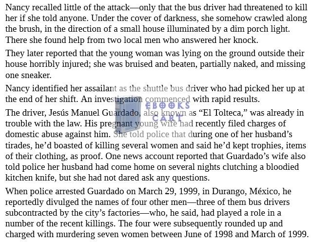 The Daughters of Juarez PDF Book Review