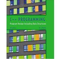C++ Programming Program Design Including Data Structures by D. S. Malik PDF Book Free Download