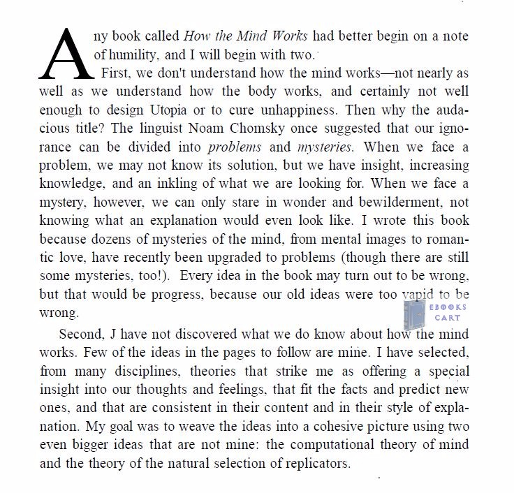 How the Mind Works by Steven Pinker PDF Review