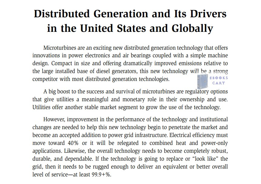 Microturbine Generator Handbook by Stephanie Hamilton PDF Review