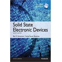 Solid State Electronic Devices Global Edition by Ben Streetman Free Download