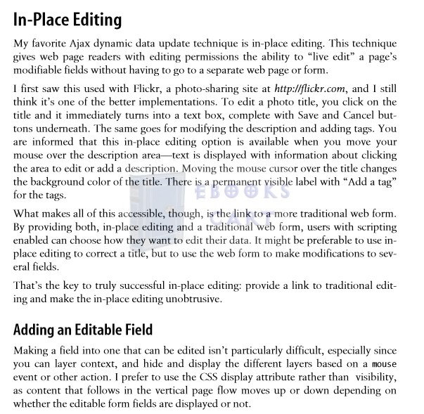 Adding Ajax Making Existing Sites More Interactive by Shelley Powers PDF Free Download