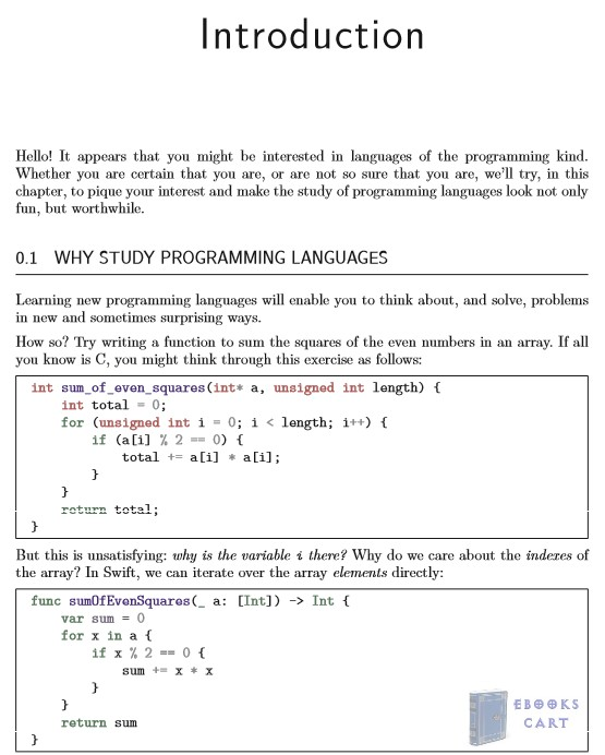 Programming Language Explorations PDF Overview