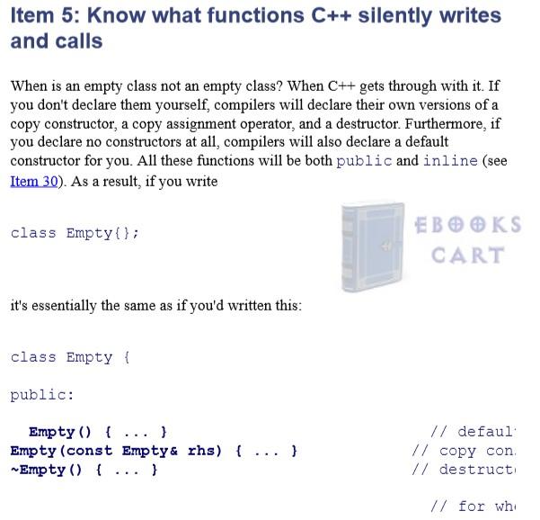 Download Effective C++ by Scott Meyers PDF