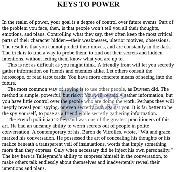 The 48 Laws of Power by Robert Greene PDF Download Free