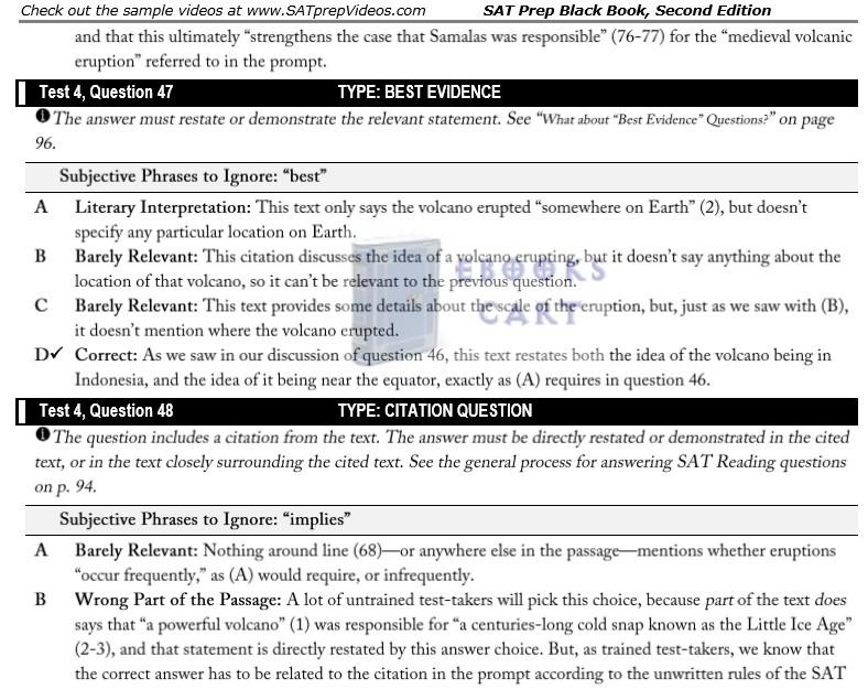 SAT Prep Black Book: The Most Effective SAT Strategies Ever