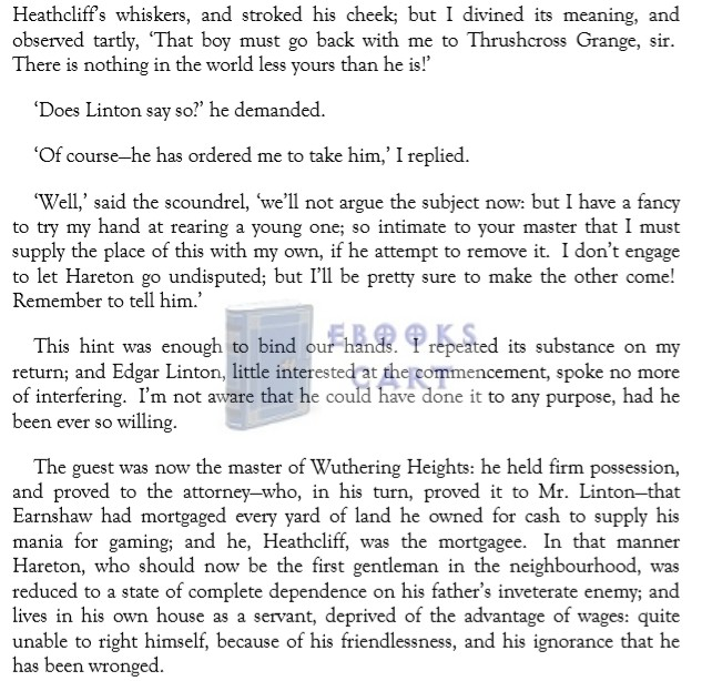 Wuthering Heights Novel by Emily Bronte PDF Download