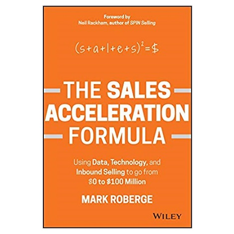The Sales Acceleration Formula by Mark Roberge PDF Download