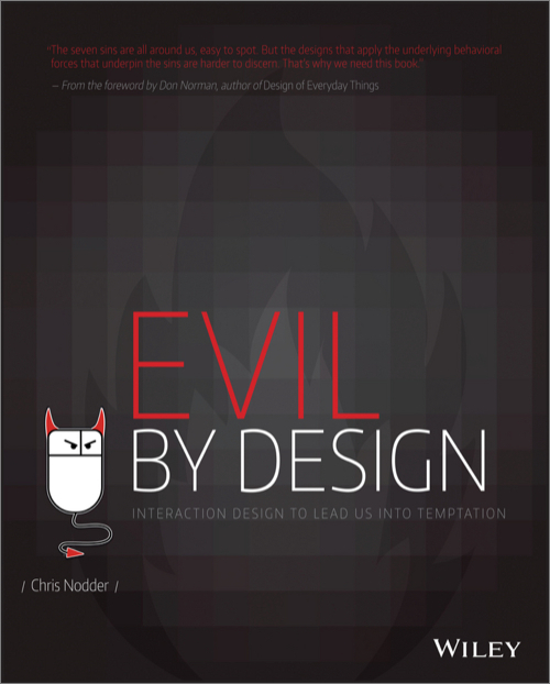 Evil by Design by Chris Nodder PDF