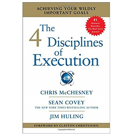 The 4 Disciplines of Execution by Chris McChesney ePub