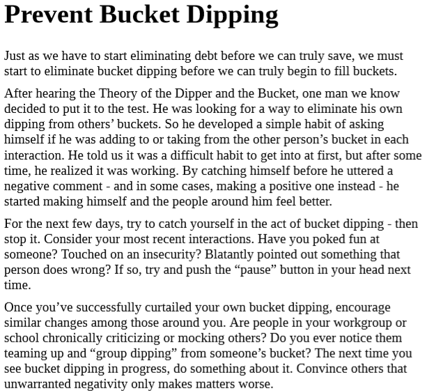 Download How Full Is Your Bucket by Tom Rath PDF Free.