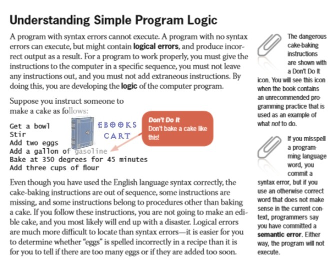 Programming Logic and Design, Comprehensive by Joyce Farrell epub Download