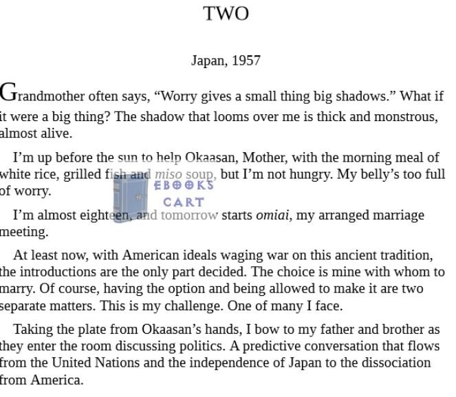 The Woman in the White Kimono by Ana Johns pdf Download
