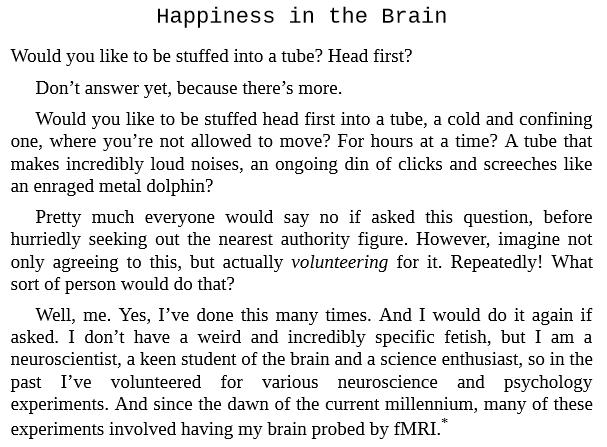 Happy Brain by Dean Burnett PDF Download