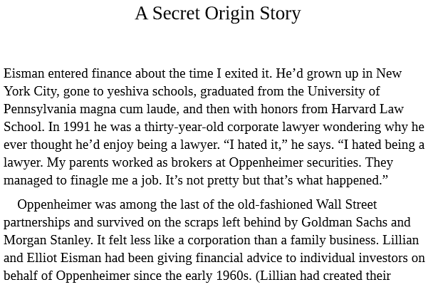 The Big Short by Michael Lewis PDF Download