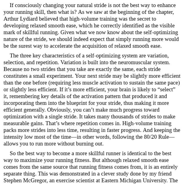 80 20 Running by Matt Fitzgerald PDF
