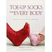 Toe-Up Socks for Every Body by Wendy D. Johnson PDF