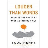 Louder than Words by Todd Henry PDF