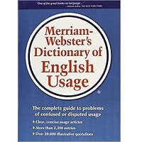 Merriam-Webster's Dictionary of English Usage by Merriam-Webster PDF