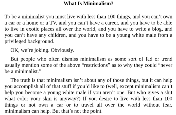 Minimalism Live A Meaningful Life By Ryan Nicodemus Pdf Download Ebookscart Sincero you are a badass: minimalism live a meaningful life by